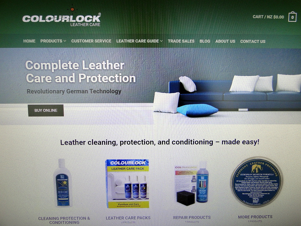 Brand new Colourlock Leather Care product website launched ! Uncategorized